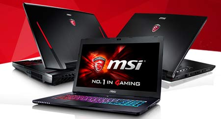All MSI laptop and tablet repairs Gold Coast